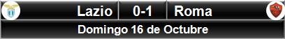 Lazio 0-1 Roma