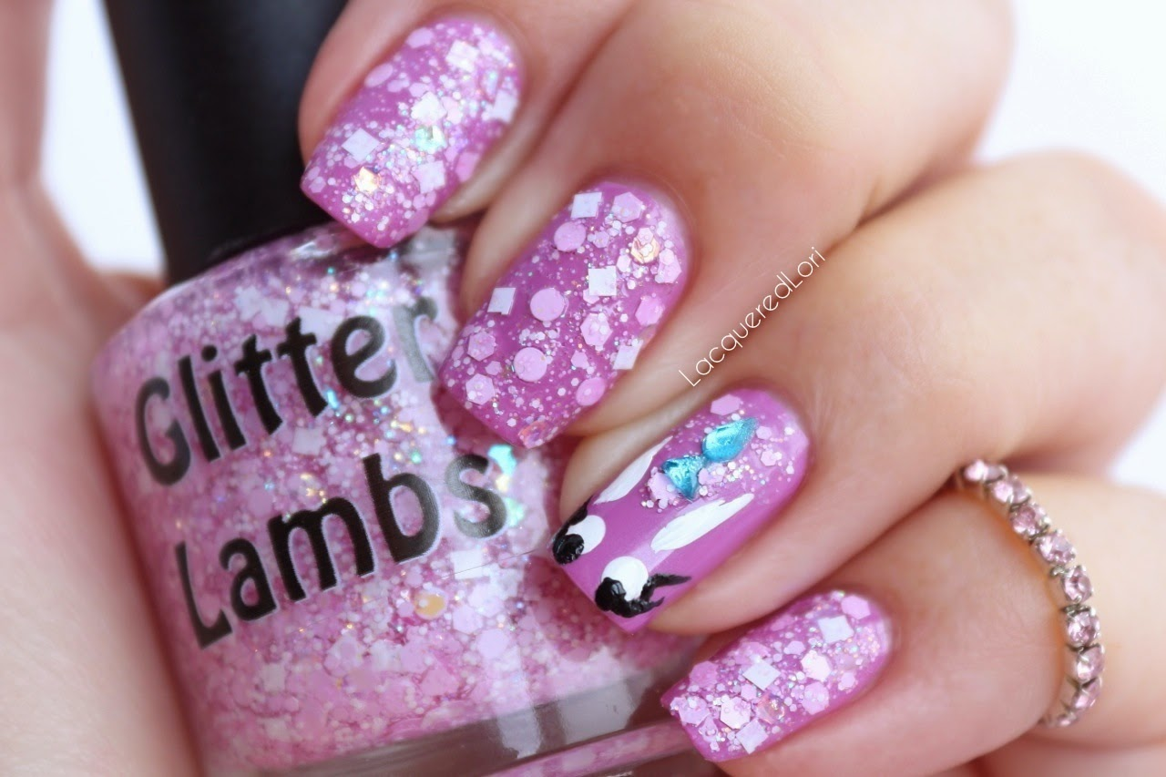 It's So Fluffy Glitter Nail Polish