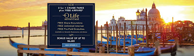 "Oceania Cruises and Regent Seven Seas Cruises - The Differences Are Fewer and Fewer.  Is ""OLife Advantage"" A Good Thing"""