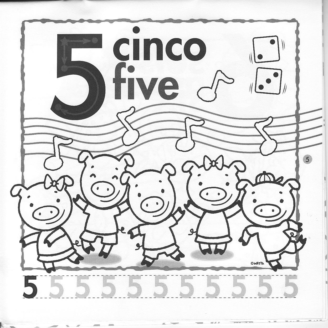 INGLES PARA NIÑOS (FICHAS): NUMBERS