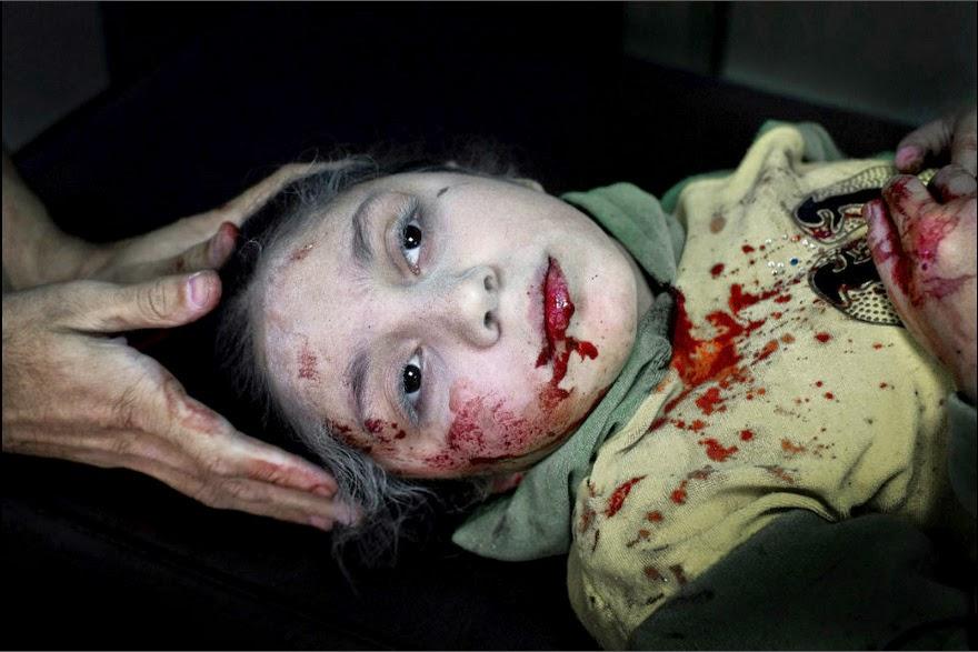 Dania. 11 años. La muerte en sus ojos