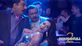 Housefull 2 HQ wallpaper featuring hot Malaika arora Khan, Mithun Chakraborty and Boman Irani