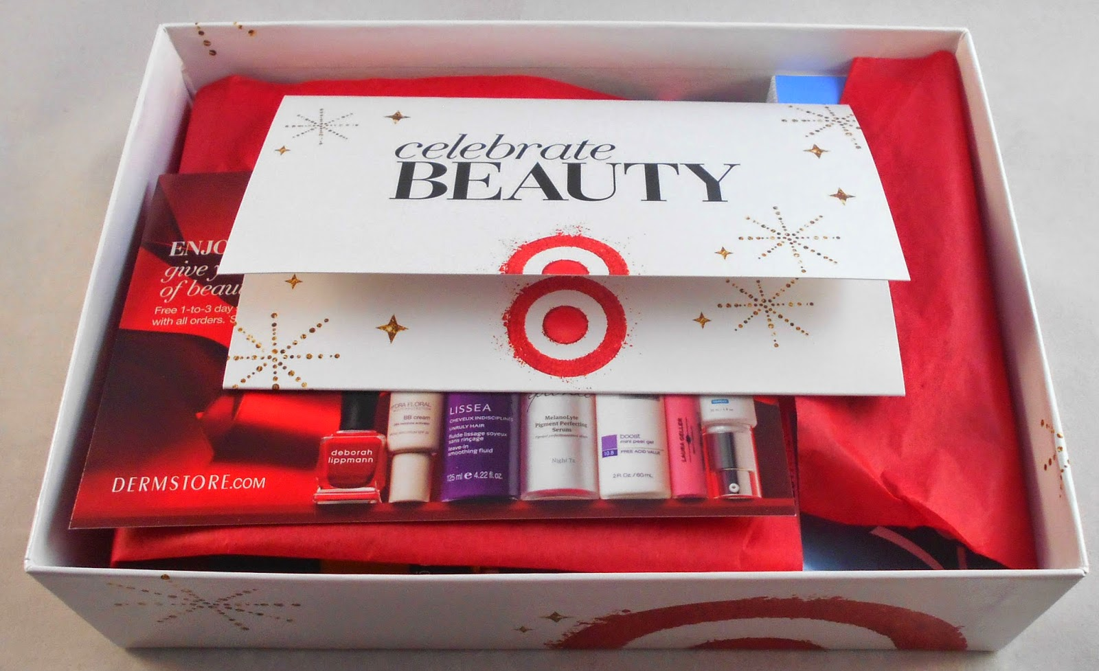 Target Cyber Monday Beauty Box 2014