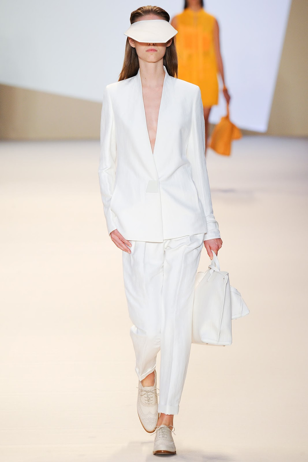 Akris / Spring/Summer 2015 trends / trouser suit / styling tips and outfit inspiration / via fashioned by love british fashion blog