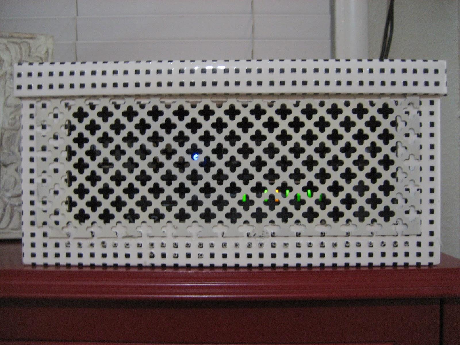 Decorative Box To Hide Cords : Life on elizabeth diy cable box cover