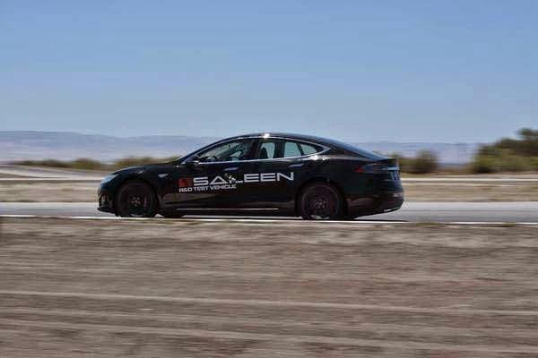 2014 Saleen Tesla Model S Foursixteen
