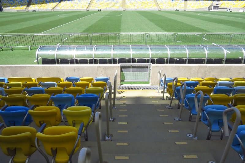 Cadeiras premium Maracanã Mais