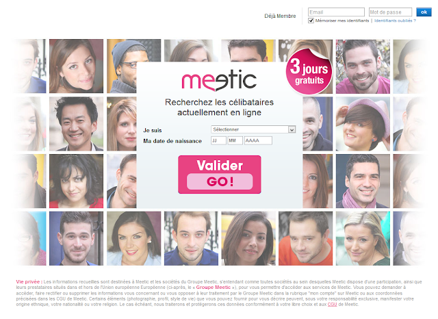 Site de rencontre meetic tarif