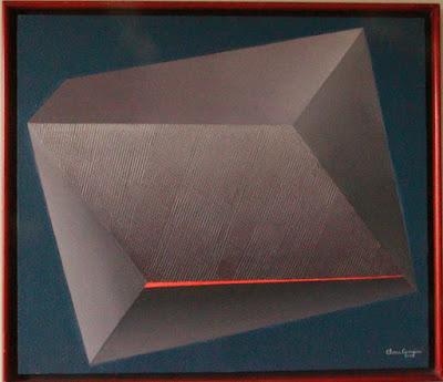 Mista s/tela, texturas - arte de Elma Carneiro