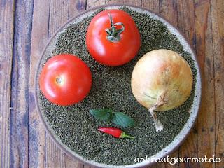 Zutaten für die Salsa