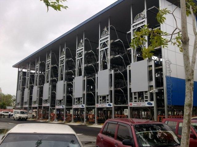 TEMPAT PARKIR BERTINGKAT AUTOMATIK DI TERENGGANU