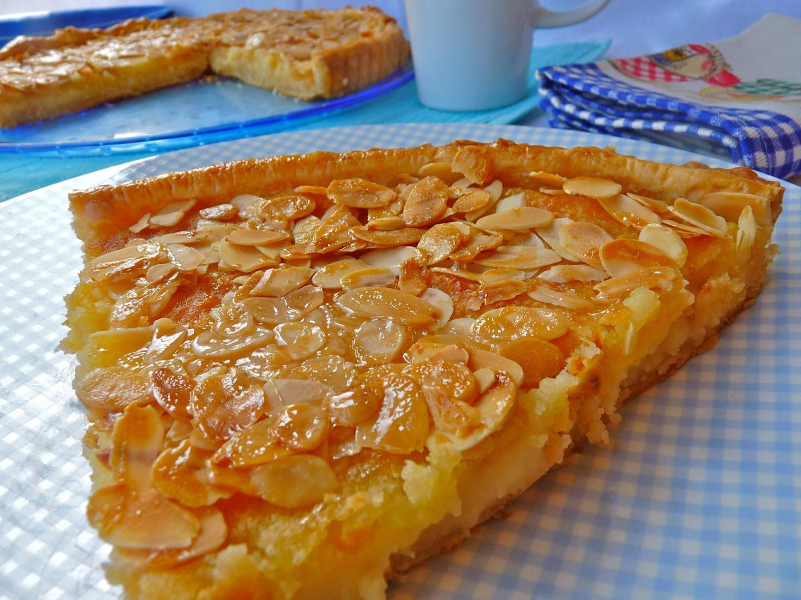 La cocina de piescu tarta casera de almendras for Recetas cocina casera