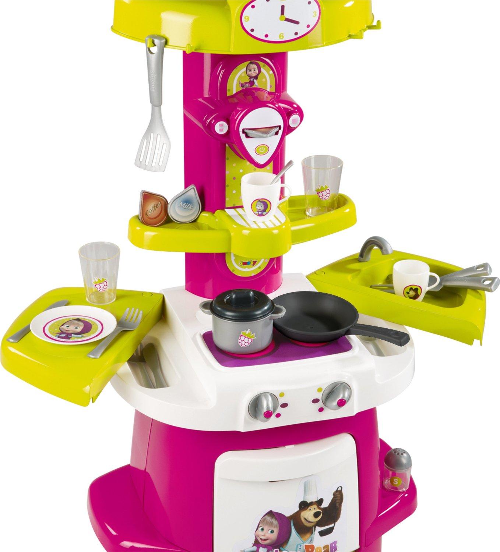 Cucina masha e orso cooky 7600310700 offerta roy toys for Masha giocattolo