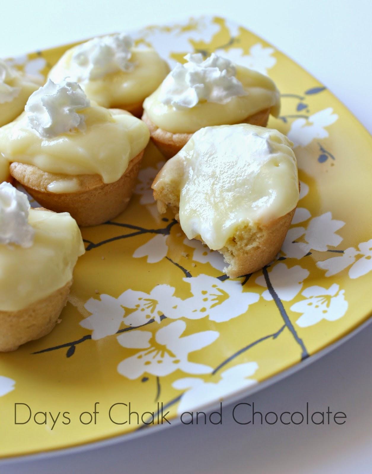 Lemon Cream Cookie Cups