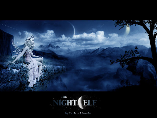 The Night Elf por ecllamelo
