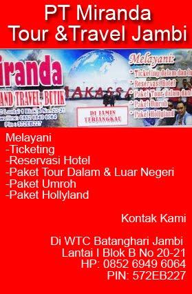 PT Miranda Tour &Travel Jambi