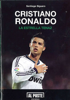 Cover of the Cristiano Ronaldo book. The tenacious star