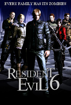 Resident Evil 6 (2012) Hindi Dubbed 450MB ENG BluRay 480p