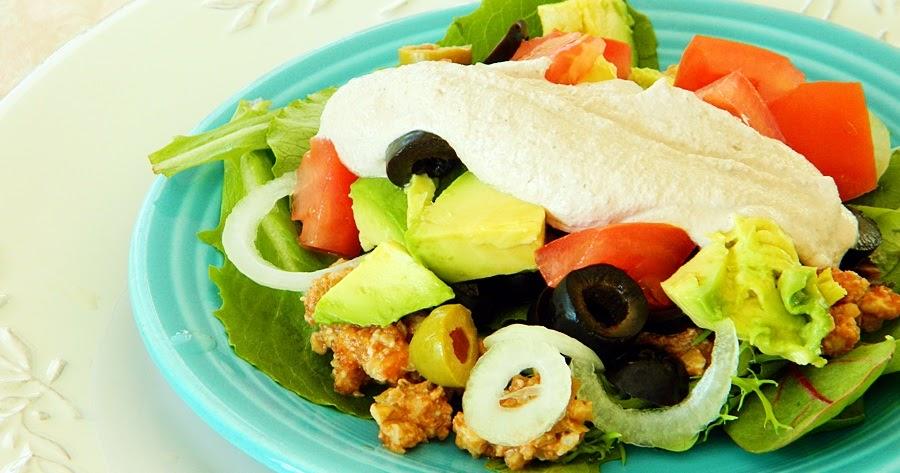 Taco Salad ~ Raw Vegan Recipe