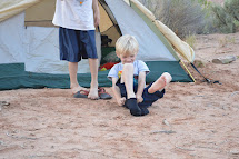 Barefoot Boys Camping