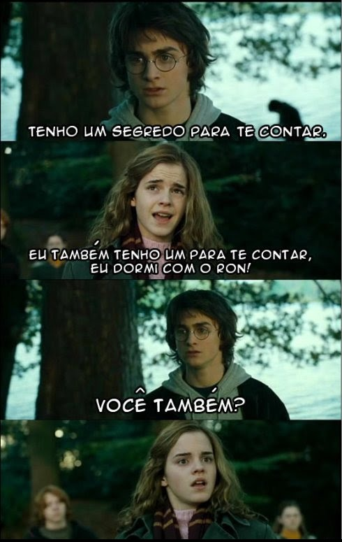 Funny Harry Potter And Hermione Memes : Humor harry potter iii