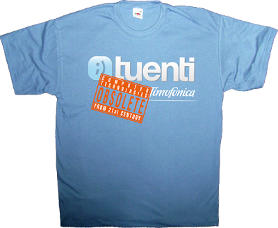 OCTFTC obsolete tuenti telefonica timofonica t-shirt ephemeral-t-shirts