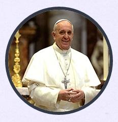 CONTADOR DIGITAL para la llegada del Papa Francisco a méxico