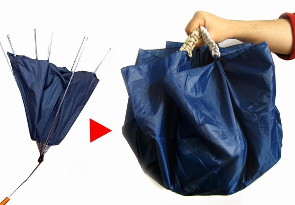 How to make a Bag from a Broken Umbrella