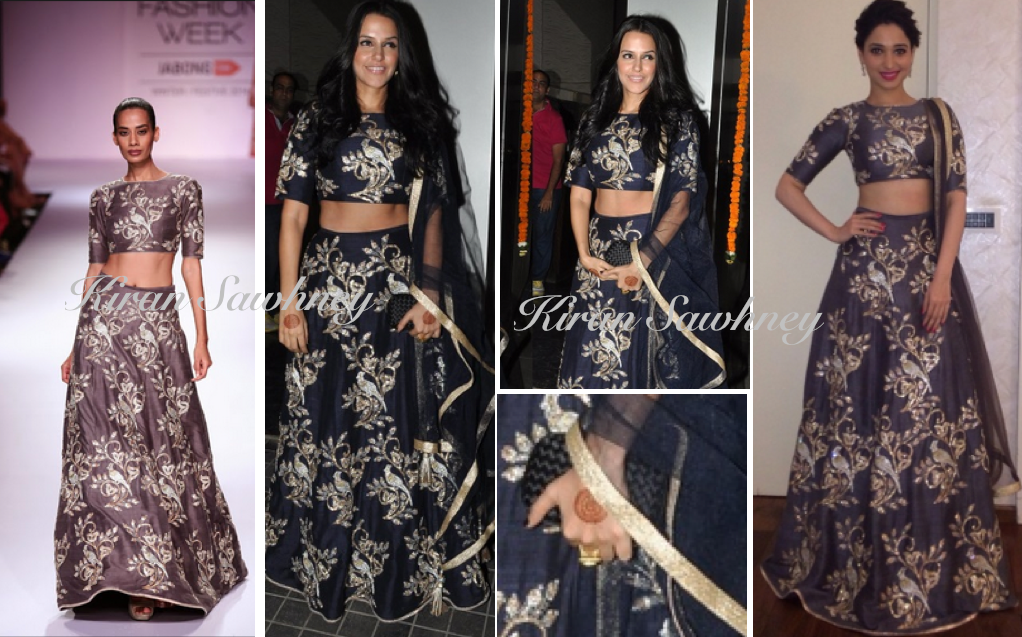 Neha Dhupia at Soha Ali Khan & Kunal Kemmu Wedding Reception