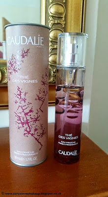 Caudalie, perfume, fragrance, The Des Vignes Fresh fragrance, The Des Vignes,
