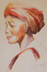 Exposition des aquarelles de Béatrice POTTECHER MISS jusqu'au 23 mars prochain.