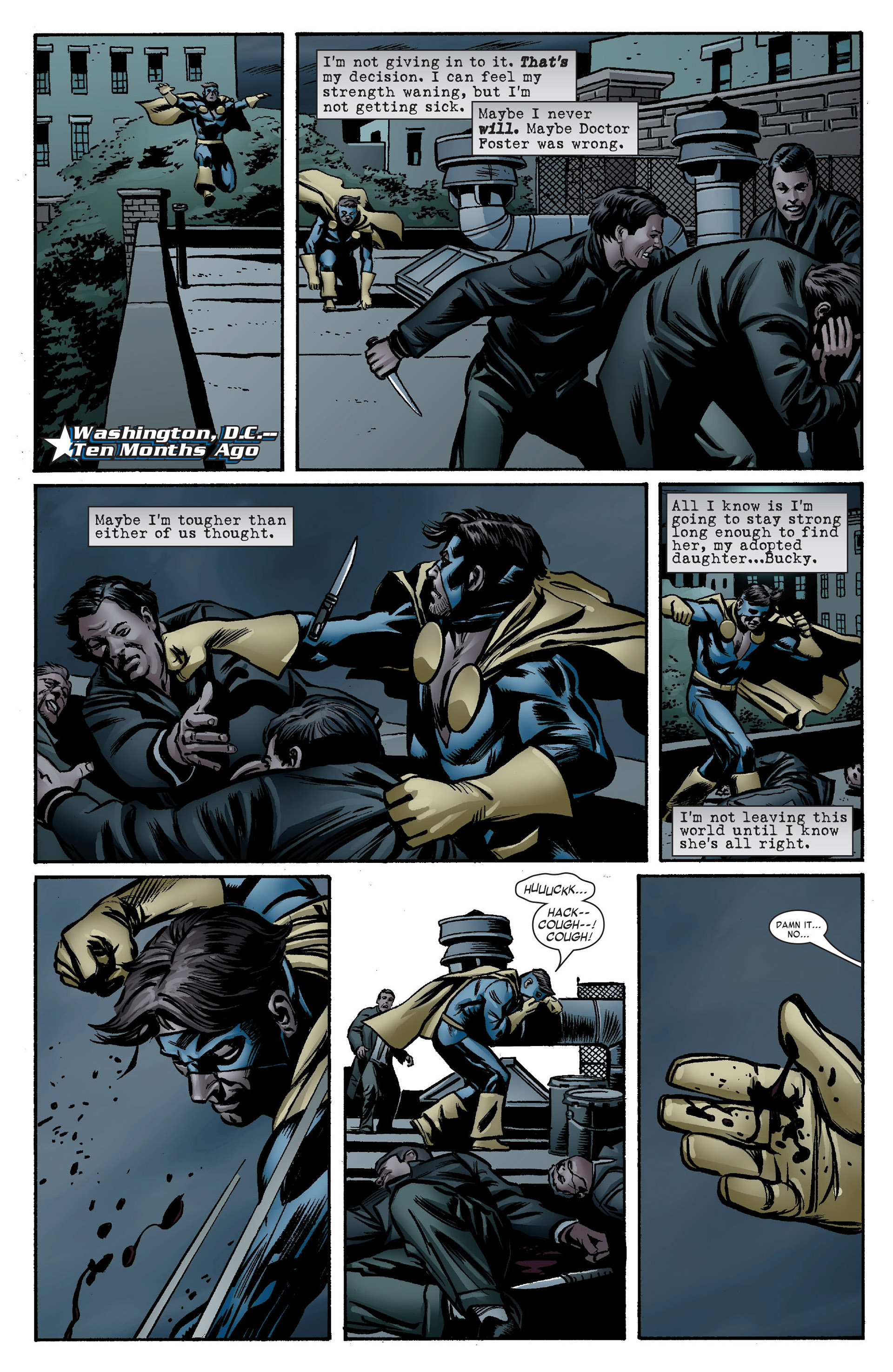 Captain America (2005) Issue #7 #7 - English 9