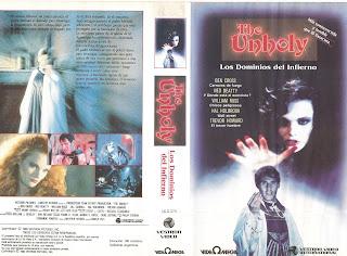 Carátula VHS Reto Al diablo 1988