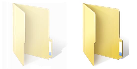 Hide data in hidden folder