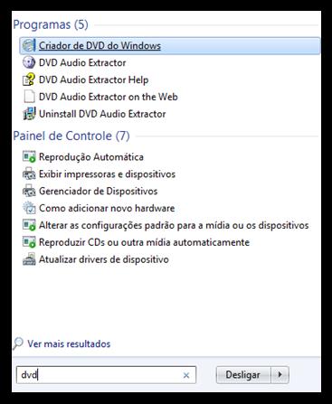 Criador de DVD do Windows