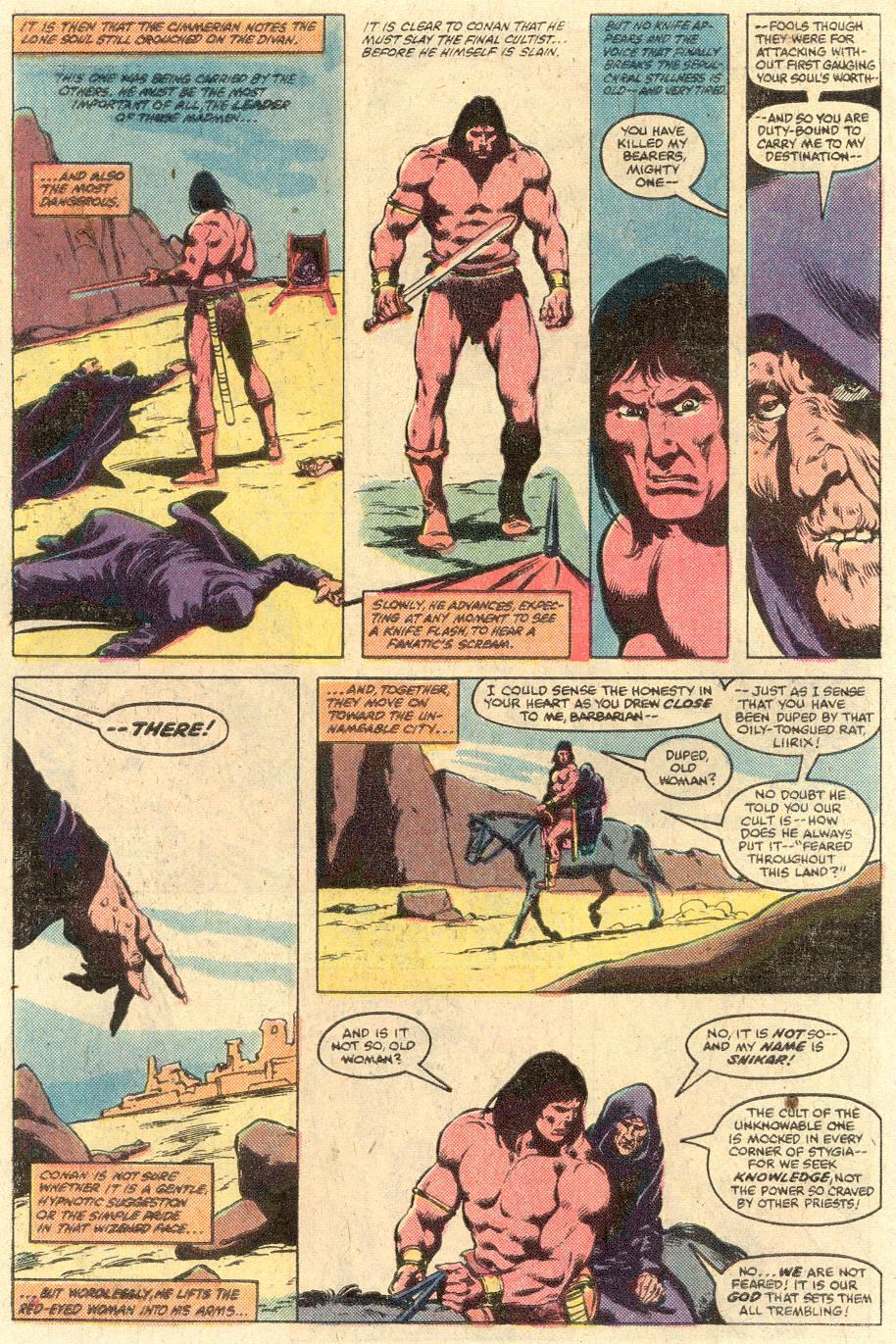 Conan the Barbarian (1970) Issue #126 #138 - English 7