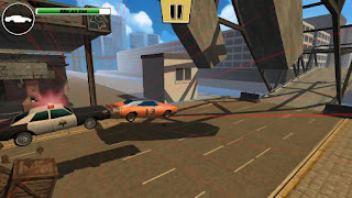 Screenshots of the Stunt car challenge 3 for Android tablet, phone.