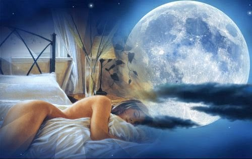 луна и сны