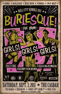 Bull City Rumble Burlesque Poster