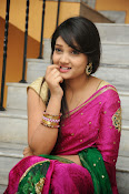 Priyanka Gorgeous Photos in Saree-thumbnail-8