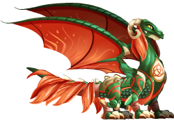 imagen del dragon celta de dragon city