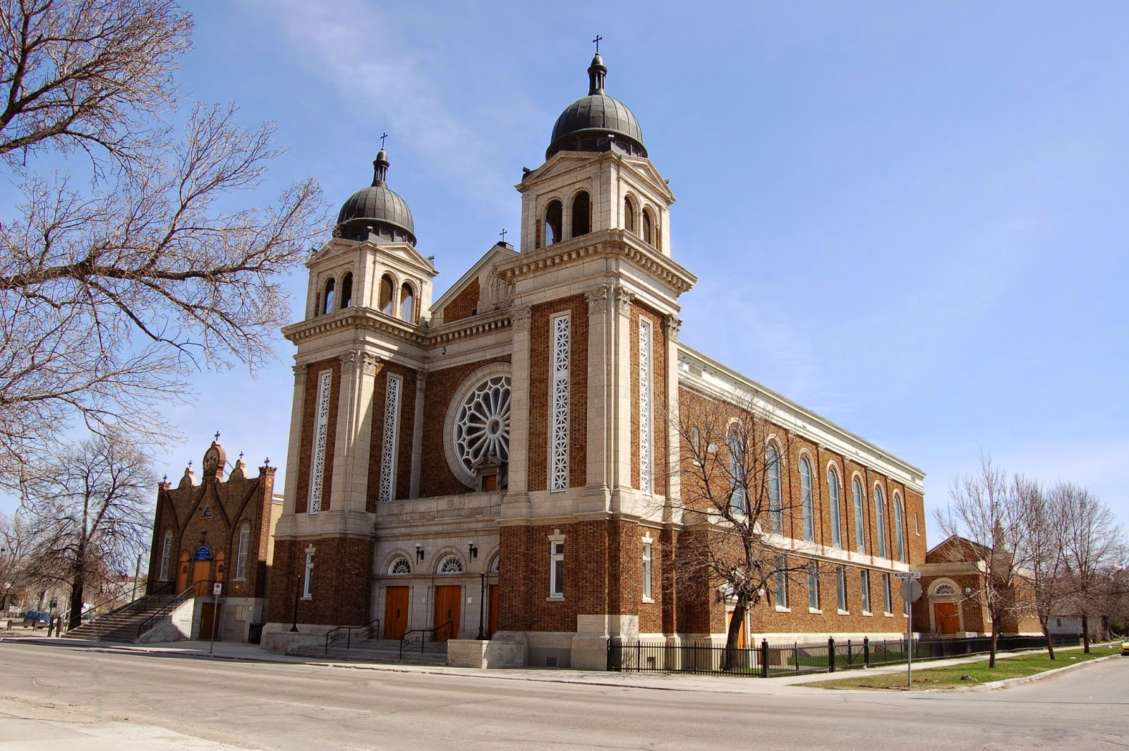 The Ukrainian Catholic Metropolitan Cathedral of Sts, Vladimir and Olga - 115 MacGregor Street