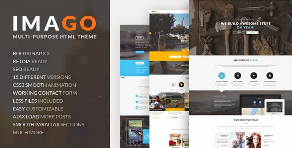 download Imago - Multipurpose HTML5 Template