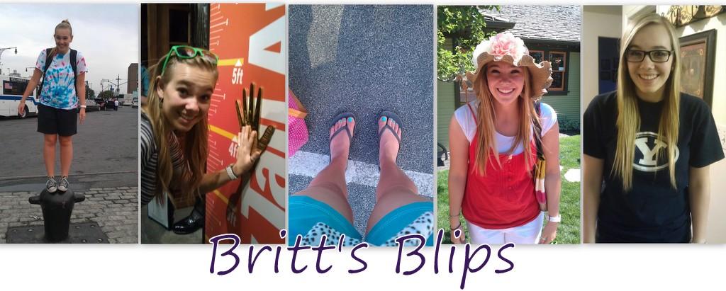 Britt's Blips