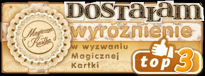 Wyróżnienie w Magicznej Kartce
