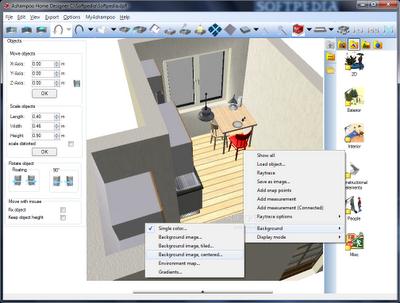 Ashampoo Home Designer software | Free design interior software