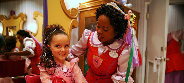 spas for kids and teens Bibbidi Bobbidi Boutique Disney resorts