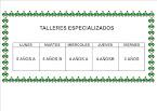 TALLERES ESPECIALIZADOS