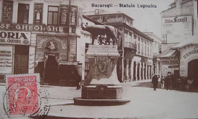 Lupoaica in Piata Sf. Gheorghe