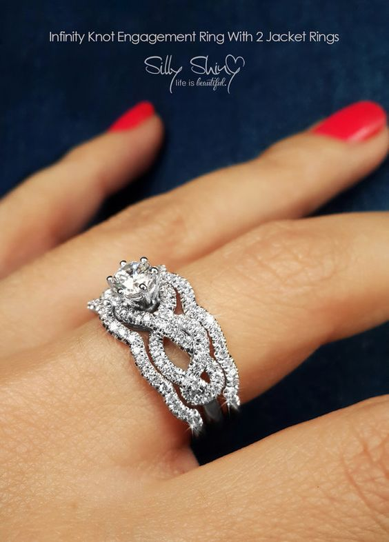 stunning wedding rings